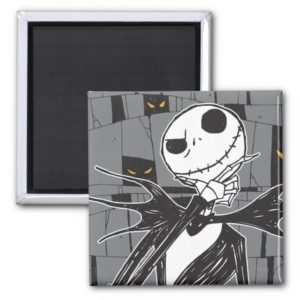 Jack Skellington | Spooky Eye Background Magnet