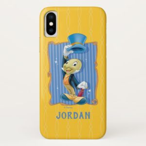 Jiminy Cricket Lifting His Hat | Add Your Name Case-Mate iPhone Case