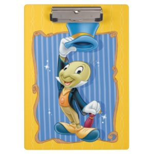 Jiminy Cricket Lifting His Hat Clipboard