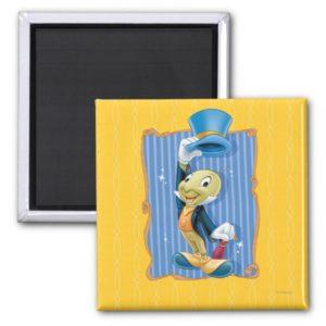 Jiminy Cricket Lifting His Hat Magnet