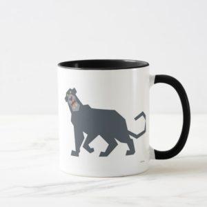 Jungle Book Bagheera black panther drawing Disney Mug