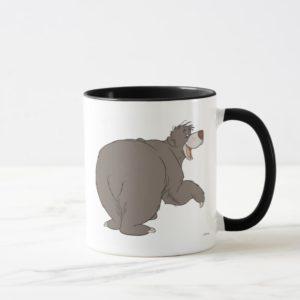 """Jungle Book Baloo bear dancing  """"follow me friend"""" Mug"""