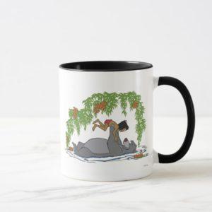 Jungle Book Baloo holding up Mowgli  Disney Mug
