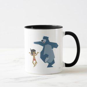 Jungle Book's Mowgli and Baloo Disney Mug