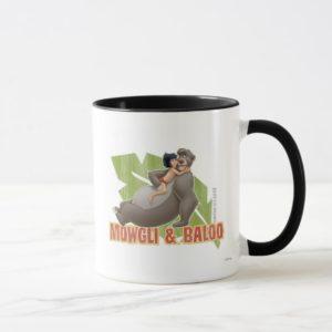 Jungle Book's Mowgli and Baloo Hugging Disney Mug