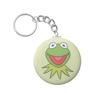 Kermit the Frog Cartoon Head Keychain