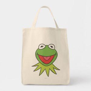Kermit the Frog Cartoon Head Tote Bag