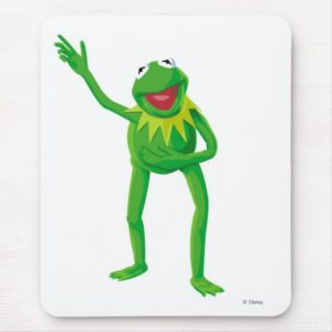 Kermit the Frog Waving his Hand Disney Mouse Pad