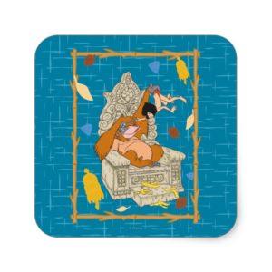 King Louie Square Sticker
