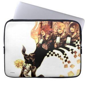 Kingdom Hearts: 358/2 Days | Roxas, Axel, & Xion Computer Sleeve