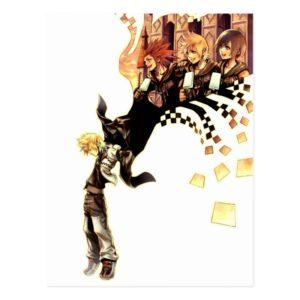 Kingdom Hearts: 358/2 Days   Roxas, Axel, & Xion Postcard