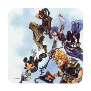 Kingdom Hearts: Birth by Sleep   Main Cast Box Art Beverage Coaster