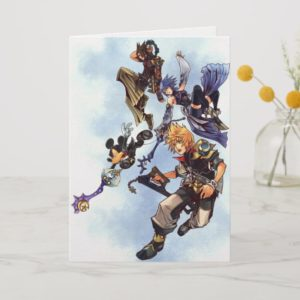 Kingdom Hearts: Birth by Sleep | Main Cast Box Art Card