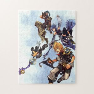Kingdom Hearts: Birth by Sleep | Main Cast Box Art Jigsaw Puzzle