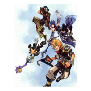 Kingdom Hearts: Birth by Sleep | Main Cast Box Art Postcard