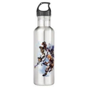 Kingdom Hearts: Birth by Sleep | Main Cast Box Art Stainless Steel Water Bottle