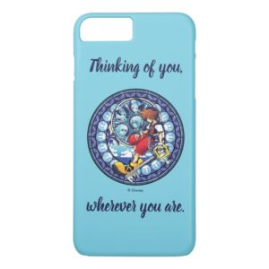 Kingdom Hearts | Blue Stained Glass Key Art Case-Mate iPhone Case