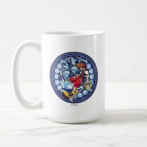 Kingdom Hearts | Blue Stained Glass Key Art Coffee Mug