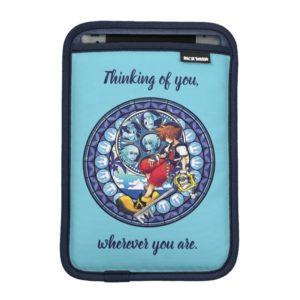 Kingdom Hearts | Blue Stained Glass Key Art iPad Mini Sleeve