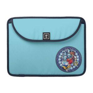 Kingdom Hearts | Blue Stained Glass Key Art MacBook Pro Sleeve
