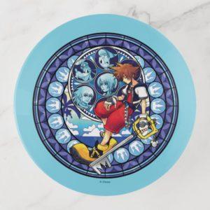Kingdom Hearts | Blue Stained Glass Key Art Trinket Trays