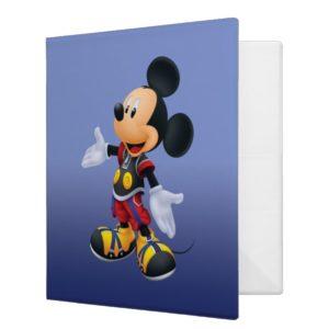 Kingdom Hearts: Chain of Memories | King Mickey 3 Ring Binder