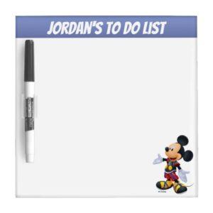 Kingdom Hearts: Chain of Memories | King Mickey Dry Erase Board