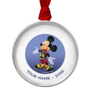 Kingdom Hearts: Chain of Memories | King Mickey Metal Ornament