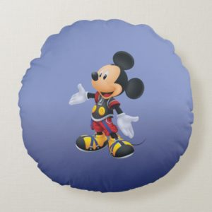 Kingdom Hearts: Chain of Memories | King Mickey Round Pillow