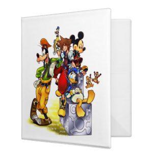 Kingdom Hearts: coded | Group Key Art 3 Ring Binder