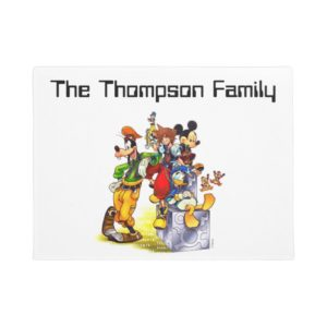 Kingdom Hearts: coded | Group Key Art Doormat