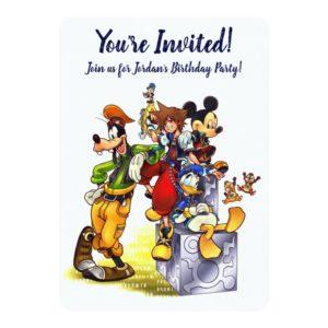 Kingdom Hearts: coded | Group Key Art Invitation