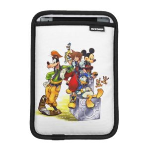 Kingdom Hearts: coded | Group Key Art iPad Mini Sleeve