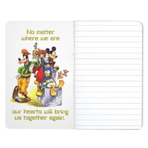 Kingdom Hearts: coded | Group Key Art Journal