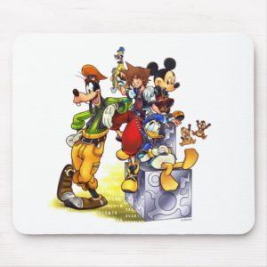 Kingdom Hearts: coded | Group Key Art Mouse Pad