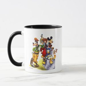 Kingdom Hearts: coded | Group Key Art Mug