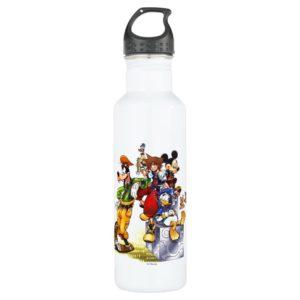Kingdom Hearts: coded | Group Key Art Stainless Steel Water Bottle