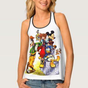 Kingdom Hearts: coded | Group Key Art Tank Top