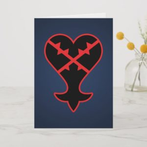 Kingdom Hearts   Emblem Heartless Symbol Card