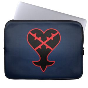 Kingdom Hearts | Emblem Heartless Symbol Computer Sleeve