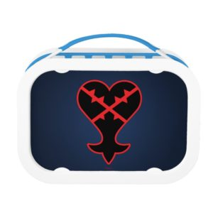 Kingdom Hearts | Emblem Heartless Symbol Lunch Box