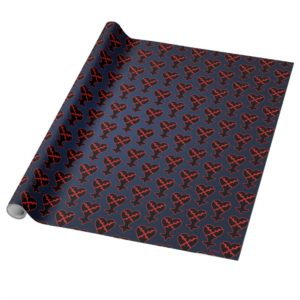 Kingdom Hearts   Emblem Heartless Symbol Wrapping Paper