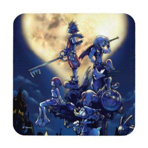 Kingdom Hearts | Heart Moon Box Art Beverage Coaster