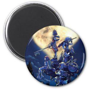 Kingdom Hearts | Heart Moon Box Art Magnet