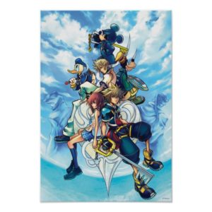 Kingdom Hearts II | Game Box Art Poster