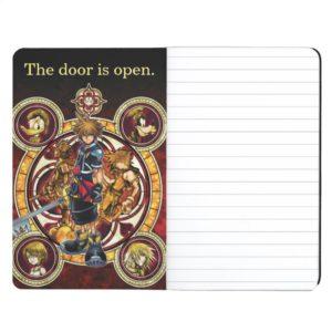 Kingdom Hearts II | Gold Stained Glass Key Art Journal
