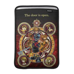 Kingdom Hearts II   Gold Stained Glass Key Art MacBook Air Sleeve