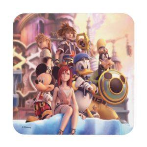Kingdom Hearts II | Hollow Bastion Key Art Beverage Coaster