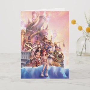 Kingdom Hearts II | Hollow Bastion Key Art Card