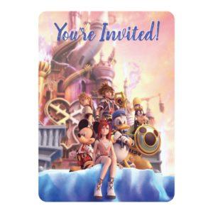 Kingdom Hearts II | Hollow Bastion Key Art Invitation